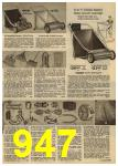 1961 Sears Spring Summer Catalog, Page 947