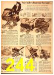 1942 Sears Spring Summer Catalog, Page 244