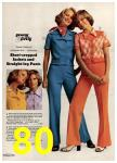 1974 Sears Spring Summer Catalog, Page 80