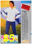 1986 Sears Spring Summer Catalog, Page 85