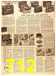 1956 Sears Fall Winter Catalog, Page 712
