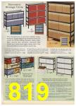 1965 Sears Spring Summer Catalog, Page 819