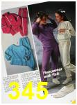 1985 Sears Fall Winter Catalog, Page 345