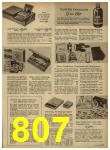 1962 Sears Spring Summer Catalog, Page 807