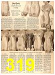 1956 Sears Fall Winter Catalog, Page 319