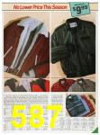 1985 Sears Fall Winter Catalog, Page 587