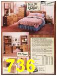 1987 Sears Spring Summer Catalog, Page 736