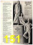 1973 Sears Fall Winter Catalog, Page 151