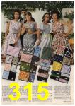 1961 Sears Spring Summer Catalog, Page 315