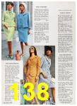 1967 Sears Spring Summer Catalog, Page 138