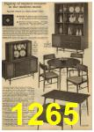 1961 Sears Spring Summer Catalog, Page 1265