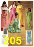 1971 Sears Fall Winter Catalog, Page 205