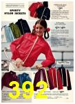 1974 Sears Spring Summer Catalog, Page 392
