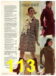 1969 Sears Fall Winter Catalog, Page 113