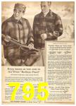 1962 Sears Fall Winter Catalog, Page 795