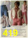 1979 Sears Spring Summer Catalog, Page 419