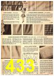 1949 Sears Spring Summer Catalog, Page 433