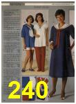 1984 Sears Spring Summer Catalog, Page 240
