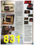 1986 Sears Fall Winter Catalog, Page 831