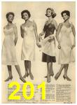 1960 Sears Spring Summer Catalog, Page 201