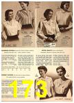 1949 Sears Spring Summer Catalog, Page 173