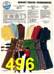 1977 Sears Fall Winter Catalog, Page 496