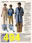 1982 Sears Fall Winter Catalog, Page 494