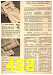 1949 Sears Spring Summer Catalog, Page 488