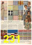 1958 Sears Spring Summer Catalog, Page 231