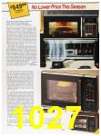 1985 Sears Fall Winter Catalog, Page 1027
