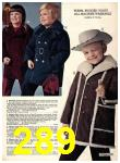 1974 Sears Fall Winter Catalog, Page 289