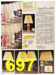 1987 Sears Fall Winter Catalog, Page 697
