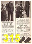1969 Sears Fall Winter Catalog, Page 315