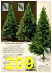 1973 Montgomery Ward Christmas Book, Page 209