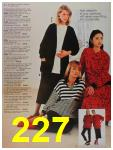 1987 Sears Fall Winter Catalog, Page 227