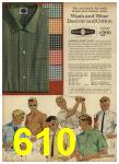 1962 Sears Spring Summer Catalog, Page 610