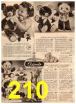1952 Sears Christmas Book, Page 210