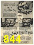 1965 Sears Fall Winter Catalog, Page 844