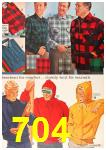 1963 Sears Fall Winter Catalog, Page 704
