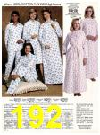 1983 Sears Fall Winter Catalog, Page 192
