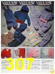 1985 Sears Fall Winter Catalog, Page 307