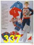 1986 Sears Fall Winter Catalog, Page 337