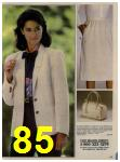 1984 Sears Spring Summer Catalog, Page 85