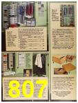 1987 Sears Spring Summer Catalog, Page 807