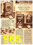 1940 Sears Fall Winter Catalog, Page 965