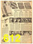 1940 Sears Fall Winter Catalog, Page 612