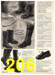 1969 Sears Fall Winter Catalog, Page 206