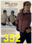 1980 Sears Fall Winter Catalog, Page 352