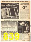 1942 Sears Spring Summer Catalog, Page 839
