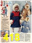 1978 Sears Fall Winter Catalog, Page 418